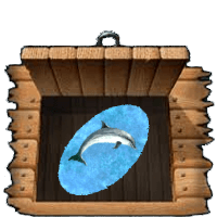 Ultima Online Dolphin Rug